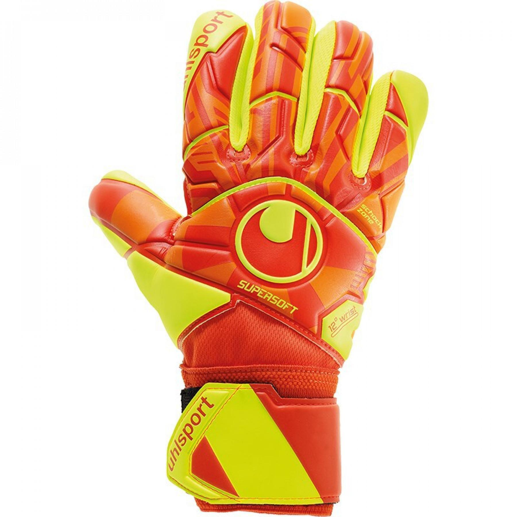 Goalkeeper gloves Uhlsport Dynamic Impulse Supersoft Hn