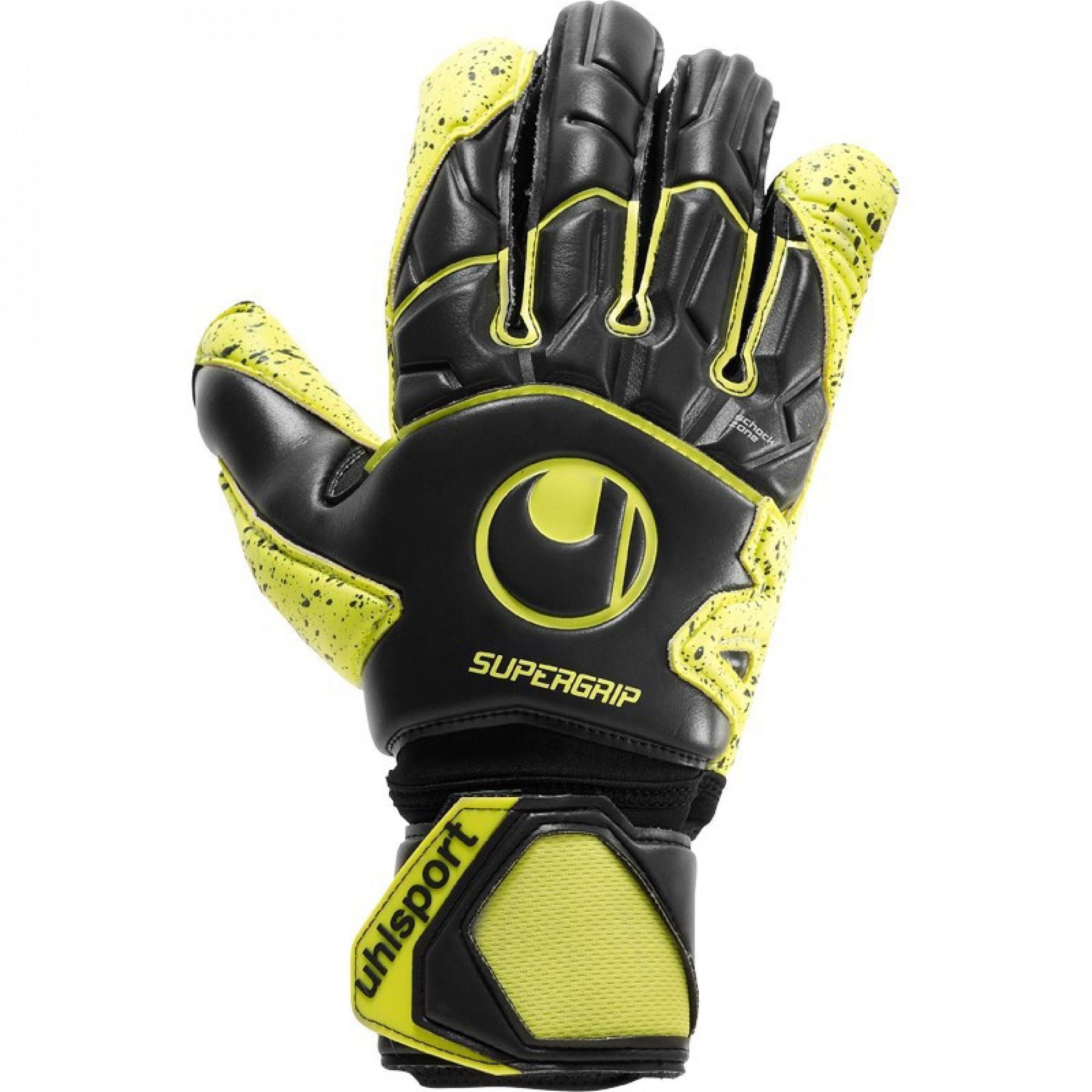Goalkeeper gloves Uhlsport Supergrip Flex Frame Carbon