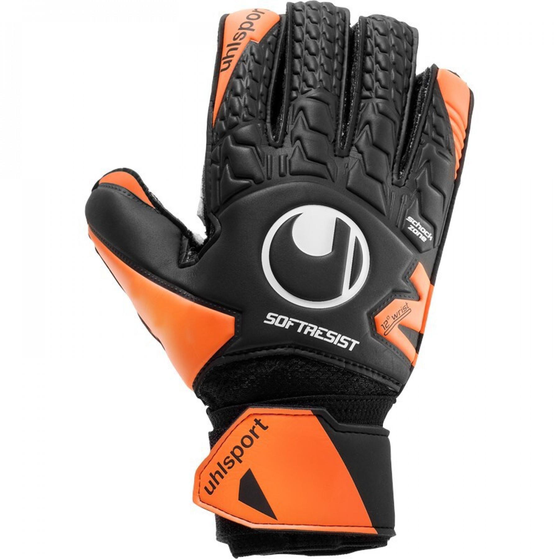 Goalkeeper gloves Uhlsport Soft Resist Flex Frame
