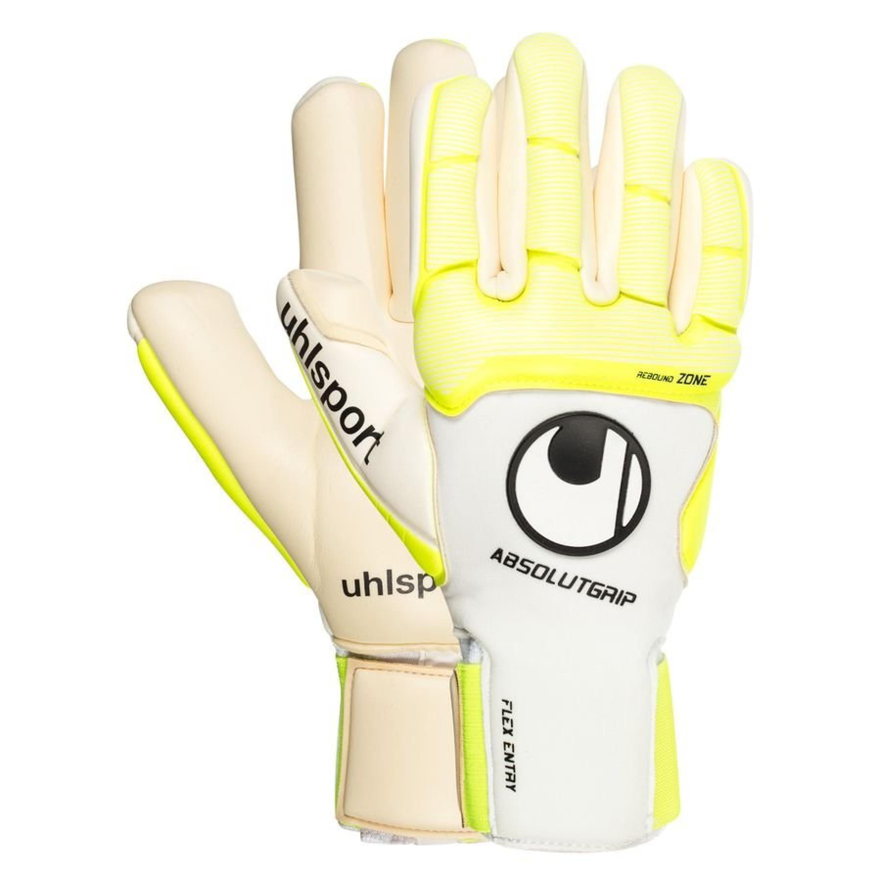 Uhlsport Gloves Pure Alliance Absolutgrip Finger Surround