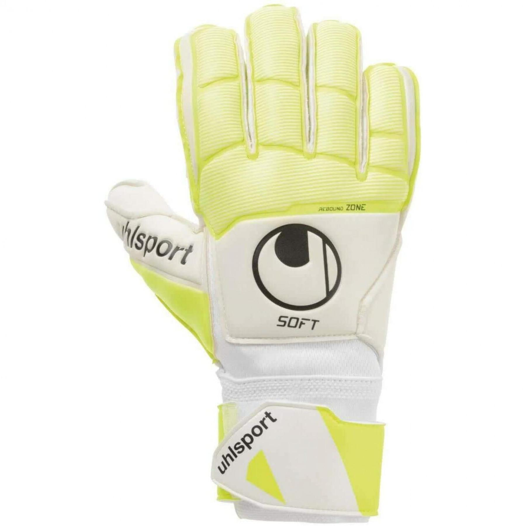 Goalkeeper gloves Uhlsport Pure Alliance Soft Flex Frame