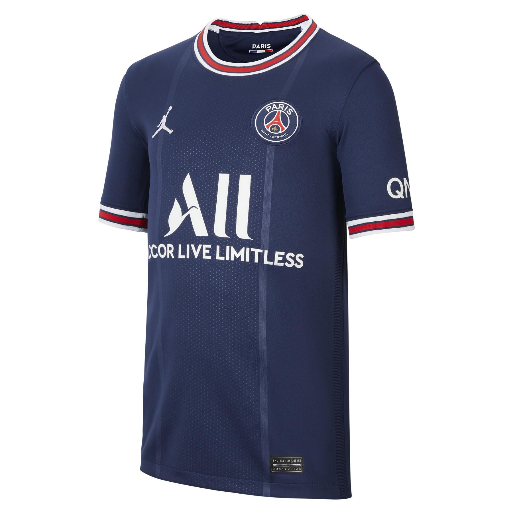 Children's home jersey PSG 2021/22