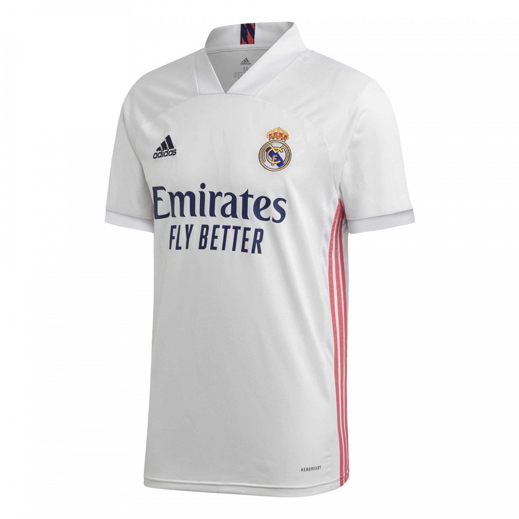 Home Shirt 2020/21 Real Madrid