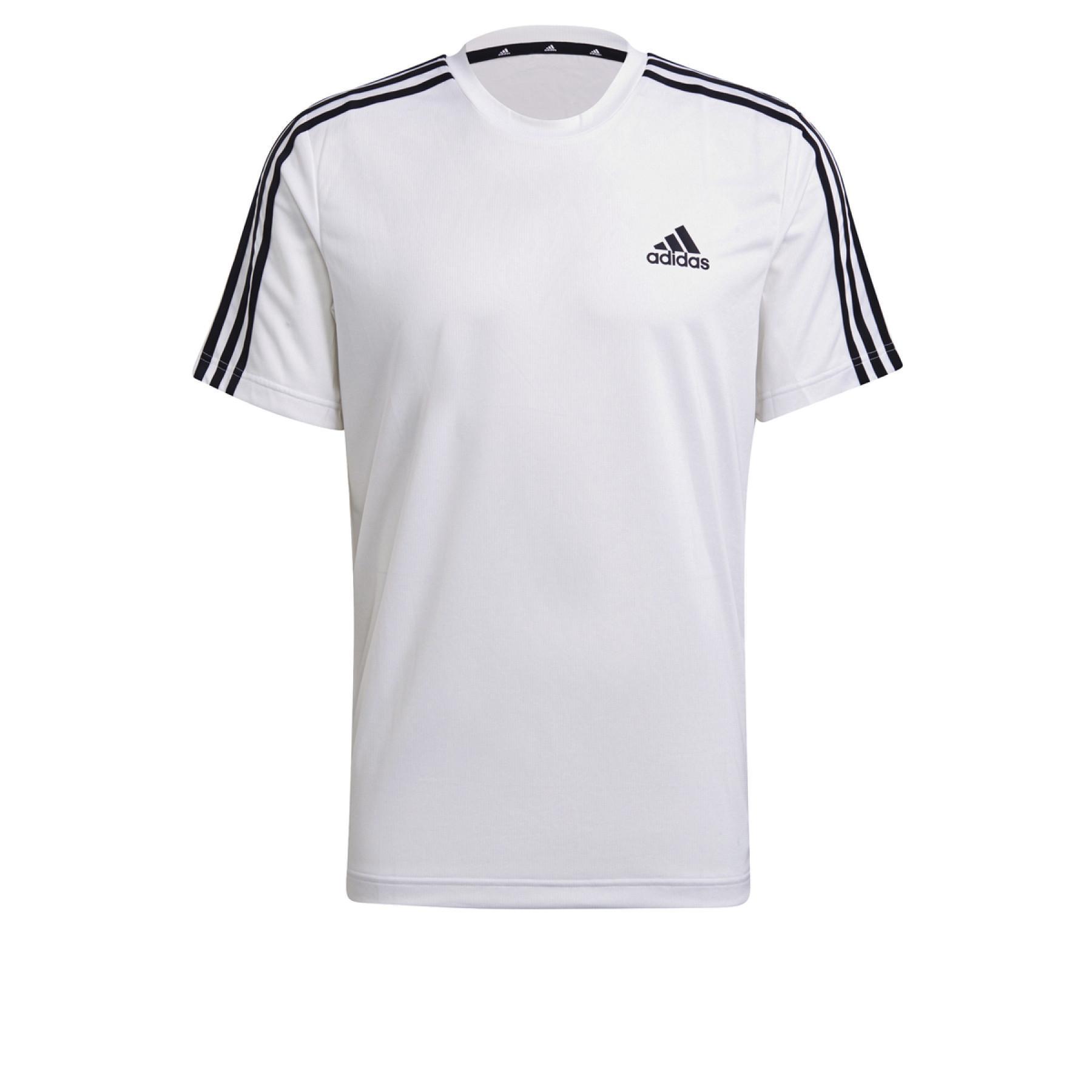 T-shirt adidas Aeroready Designed To Move Sport 3-Bandes