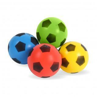 Set of 4 balloons assorted colors 20 cm Sporti France