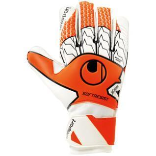 Uhlsport goalkeeper gloves soft resist