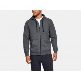 Hoody Under Armour Fitted Full Zip Fleece Rival
