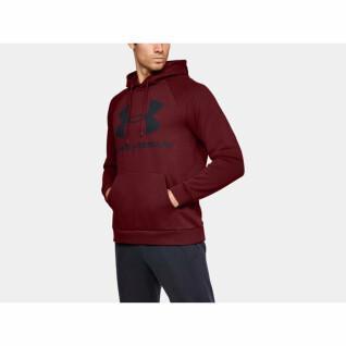 Hoody Under Armour Fleece Logo Rival