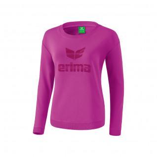 Junior sweatshirt woman Erima essential to logo