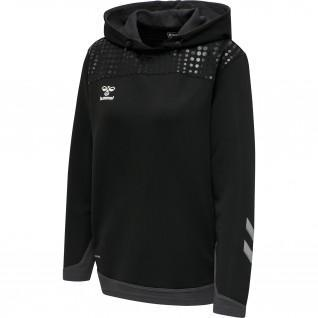 Women's hooded sweatshirt Hummel hmllead poly