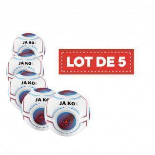 Lot of 5 balls Jako Futsal Light 3.0