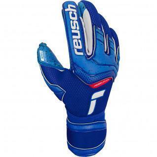 Goalkeeper gloves Reusch Attrakt Fusion Finger Support