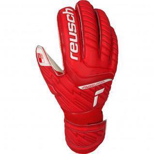 Kid's goalie gloves Reusch Attrakt Grip Finger Support