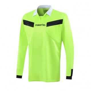 Macron referee jersey long sleeve