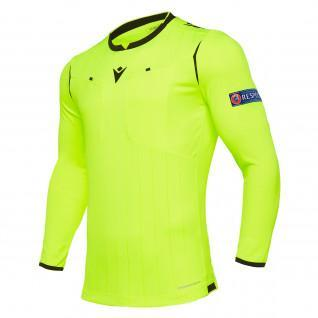 Referee Jersey Long Sleeve Macron UEFA 2019