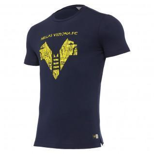 Cotton T-shirt Hellas Verona fc 2020/21