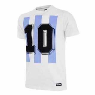 T-shirt number 10 Argentine retro