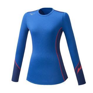 Women's long sleeve t-shirt Mizuno Virtual G2