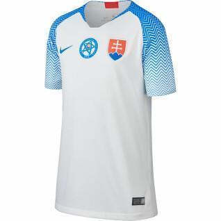 Junior Slovakia 2018 home jersey
