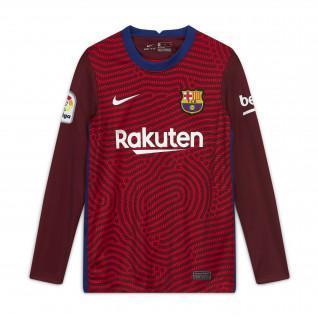 FC Barcelona Stadium goalkeeper junior jersey 2020/21