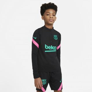 Barcelona Strike 2020/21 Junior Jersey