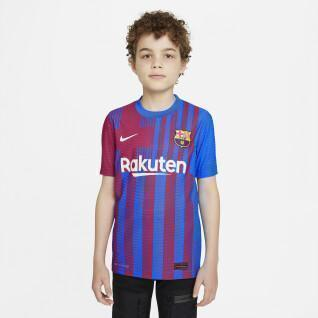 Authentic children's home jersey fc barcelona 2021/22