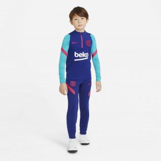 FC Barcelona Strike children's training pants