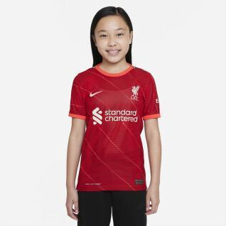 Authentic children's home jersey liverpool fc 2021/22