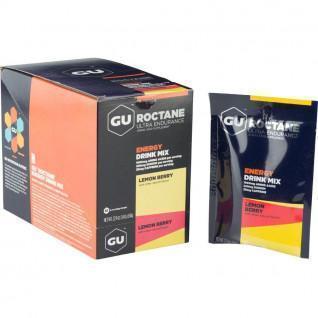 Energy Drink Gu Roctane lemon / red fruit (x10
