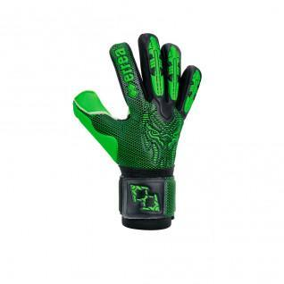 Junior gloves Errea black panther fluo edition