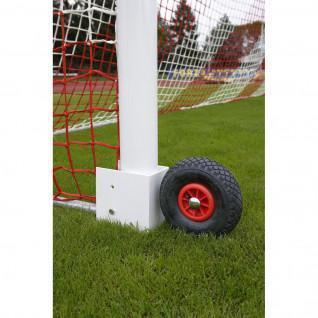 Soccer goal Wheels 11 transportable Power Shot