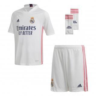 Mini Kit Real Madrid 2020/21 home