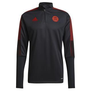 fc zip-up training sweatshirt Bayern Munich Tiro