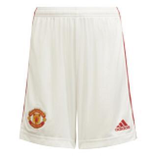 Short home child Manchester United 2021/22