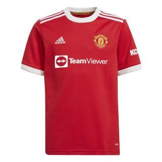 Children's home jersey Manchester United 2021/22