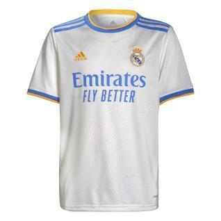 Real Madrid home jersey for kids 2021/22