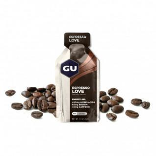 Pack of 24 Gels caffeinated espresso Gu Energy