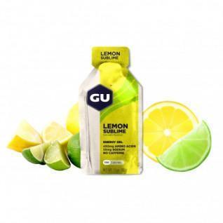 Lot 24 Gu Energy Gel intense lemon caffeine