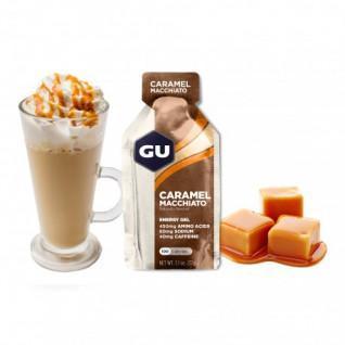 Lot 24 Gu Energy Gel caramel macchiato caffeinated