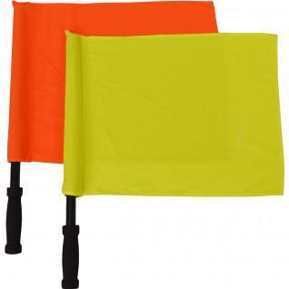 Pair flag button united