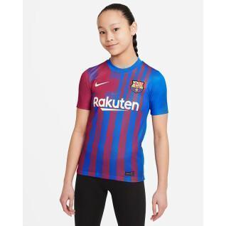 Home jersey child fc barcelona 2021/22