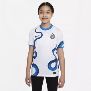 Children's outdoor jersey Inter Milan 2021/22