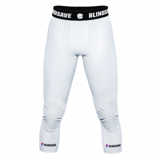 3/4 pants with integrated knee pad Blindsave