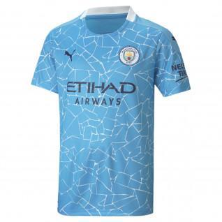 Manchester City junior home shirt 2020/21