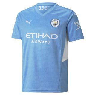 Children's home jersey Manchester City 2021/22