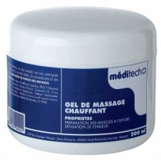 heating massage gel - 500 ml