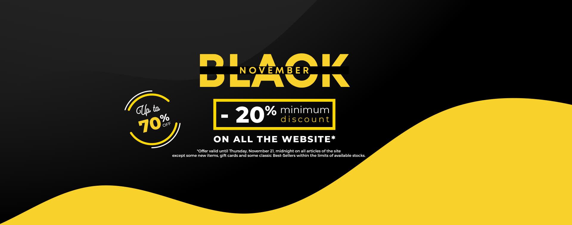 Black November -70%
