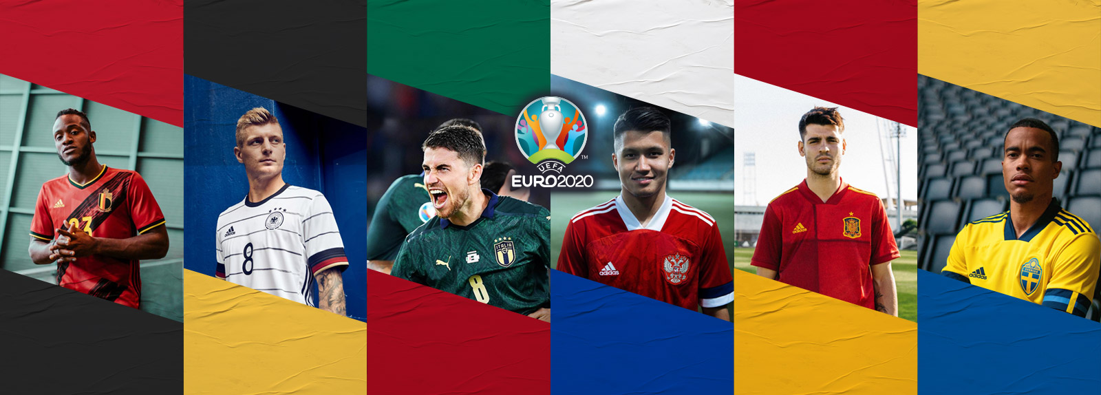EURO 2020 : The new shirts are here !