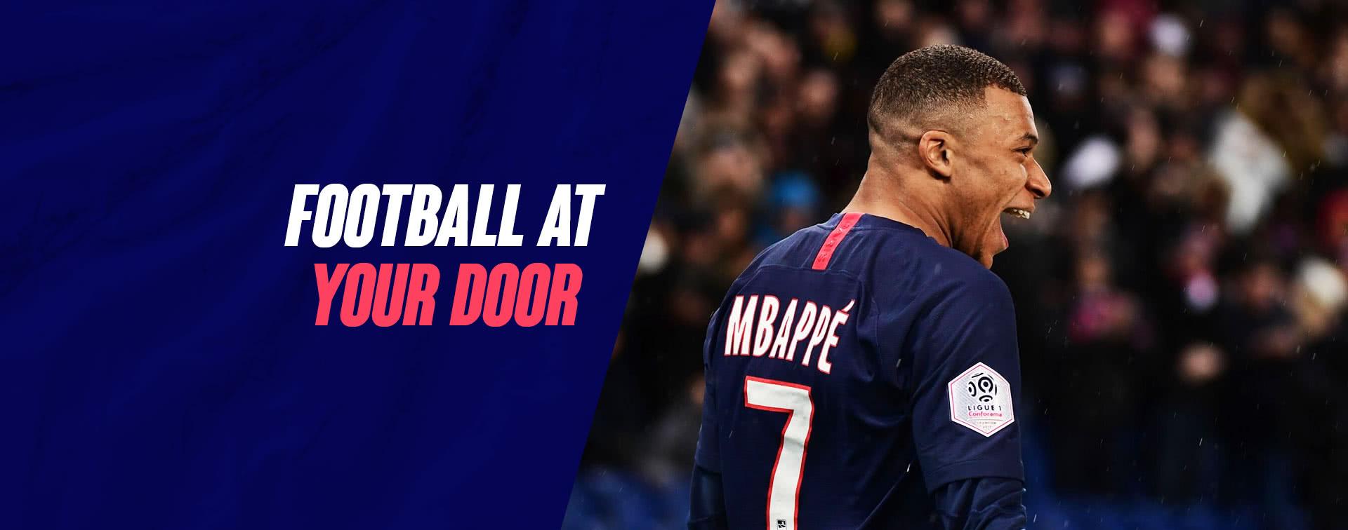 Football at your door