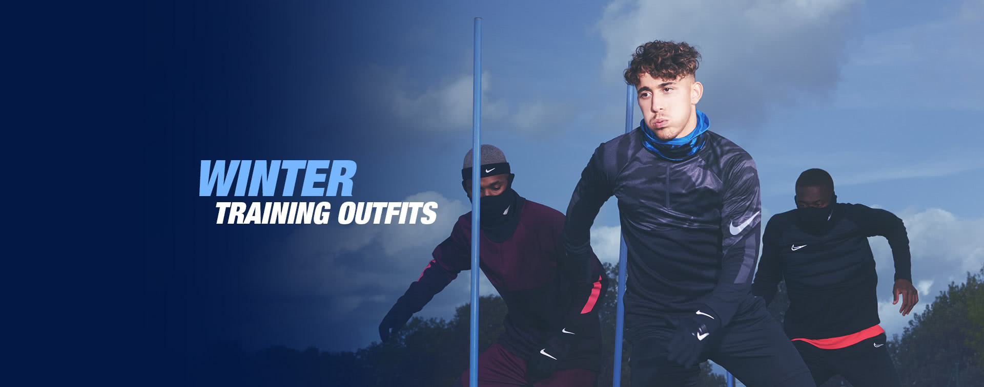 Winter training outfits